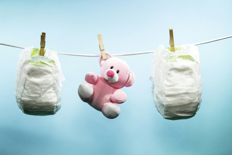 A Dutch company might have a way to turn used nappies into fertiliser, fuel and reusable plastic | © AFP | JOEL SAGET
