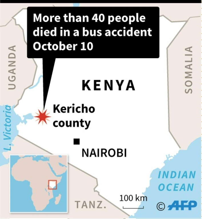 More than 50 dead in Kenya bus accident – VIDEO | AFP