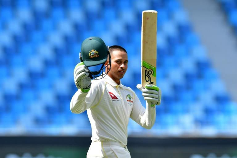 Usman Khawaja was the toast of Australia for his match-saving century.   © AFP   GIUSEPPE CACACE