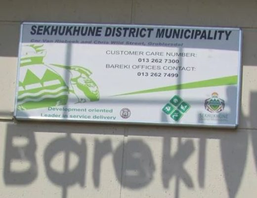 Limpopo's Sekhukhune municipality recovers R4.7m of stolen R5.4m