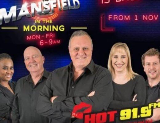 Jeremy Mansfield returns to radio