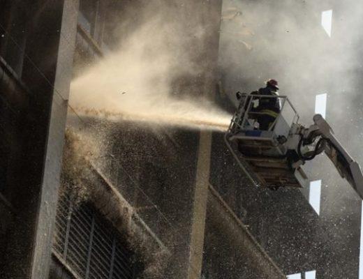 Joburg firefighters injured in health dept blaze receive skin graft surgery