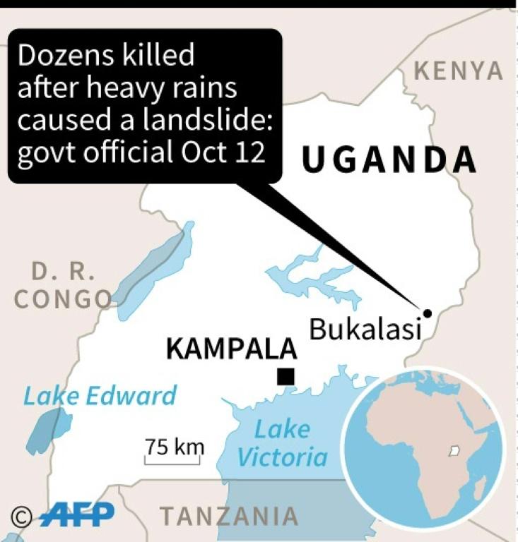 At least 34 dead after Uganda landslide | AFP | Northern KZN Courier