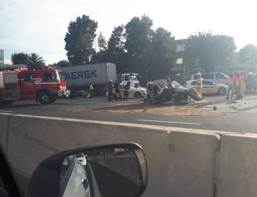 Fatal Bedfordview crash causes nightmare traffic on N3