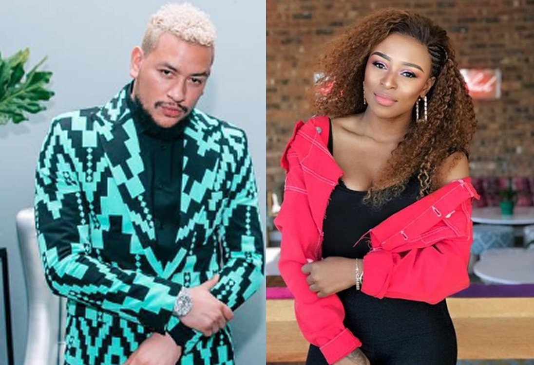 All4women Friendly Exes Aka And Dj Zinhle S Cutest Post