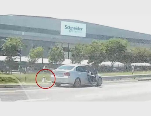 WATCH: Motorists left shocked as man throws toddler out of car on R21 in East Rand