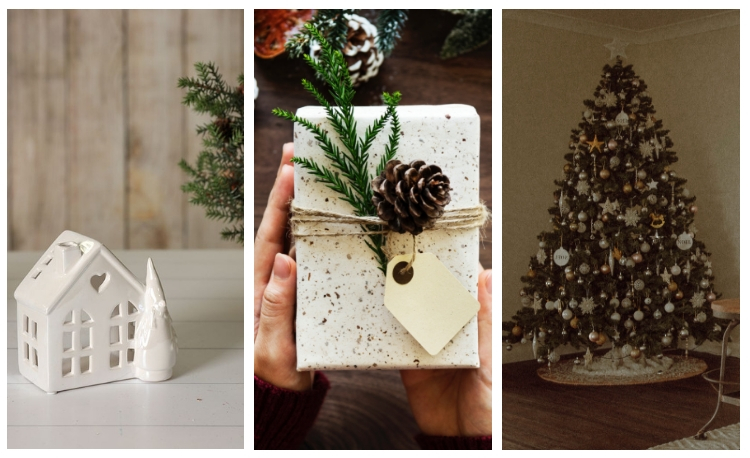 if you love that french country style or contemporary country look here are christmas decorations to complement your home