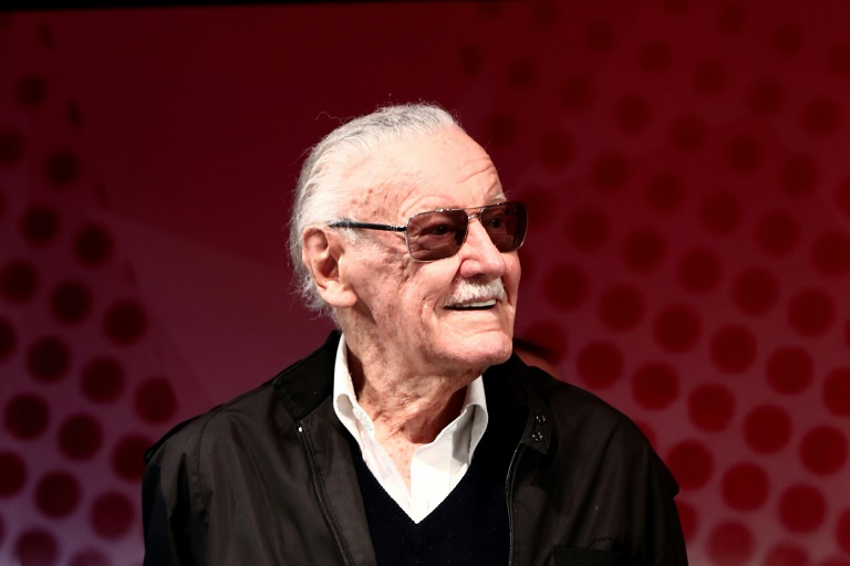 Stan Lee rose through the ranks to become a comics writer, and eventually led the Marvel empire for decades as its publisher | © AFP/File | Behrouz MEHRI