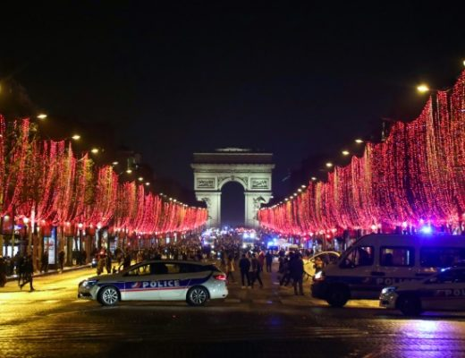 the famous champs elysees avenue in paris has been one of the main scenes of