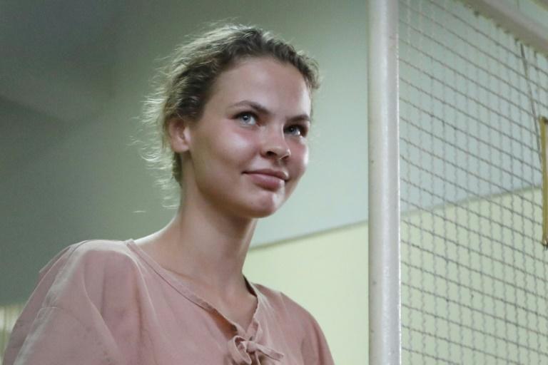 Anastasia Vashukevich has been held in custody since last February, when Thai police raided the course in the sleazy seaside resort of Pattaya | © THAI NEWS PIX/AFP/File | Krit Phromsakla Na SAKOLNAKORN