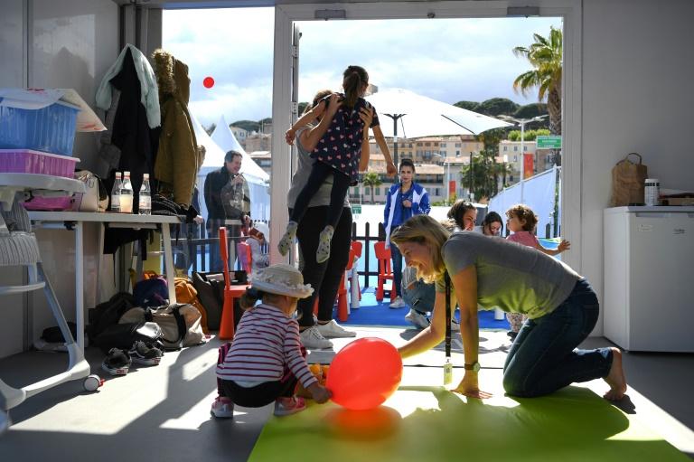 Lights, camera… creche! Cannes gets red carpet nursery | AFP