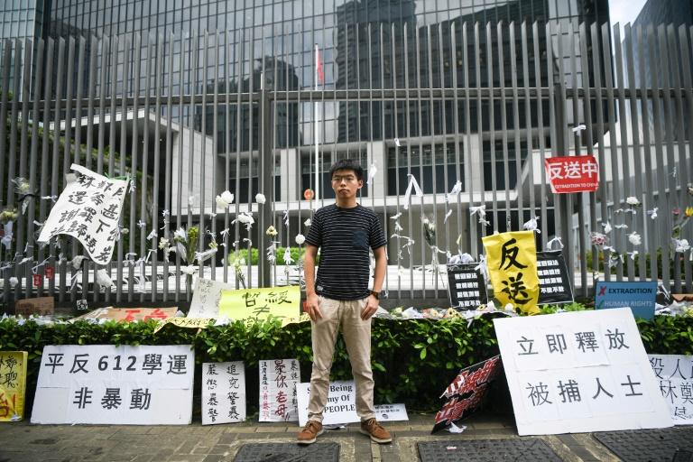 Joshua Wong: Hong Kong's pro-democracy poster child | AFP