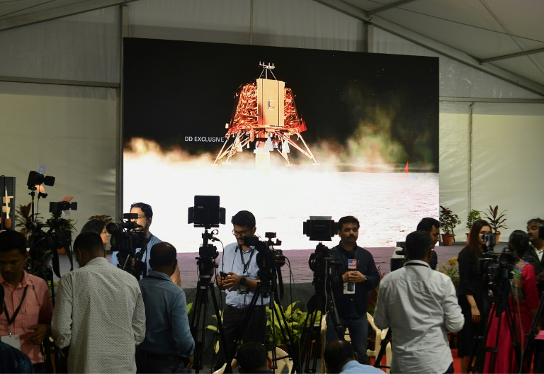 India locates missing Moon lander | AFP | Kempton Express