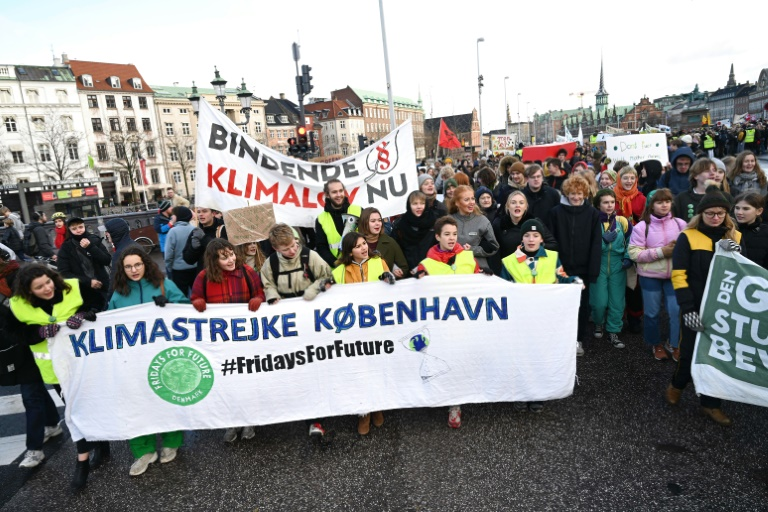Copenhague était la capitale verte européenne en 2014 et a été un centre de protestations contre le changement climatique   © Ritzau Scanpix / AFP / Fichier   Philip Davali