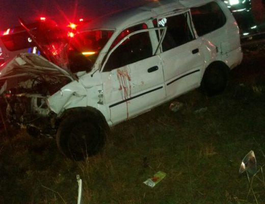 Man killed and 10 injured in last night's car accident