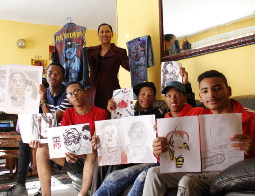 4a98777f28 Eldos Visual Arts Narrators determined to make a difference within the  Greater Eldorado Park community through art