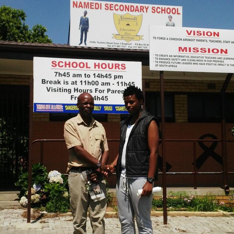 Namedi Secondary tops Diepkloof and Orlando schools  Soweto Urban
