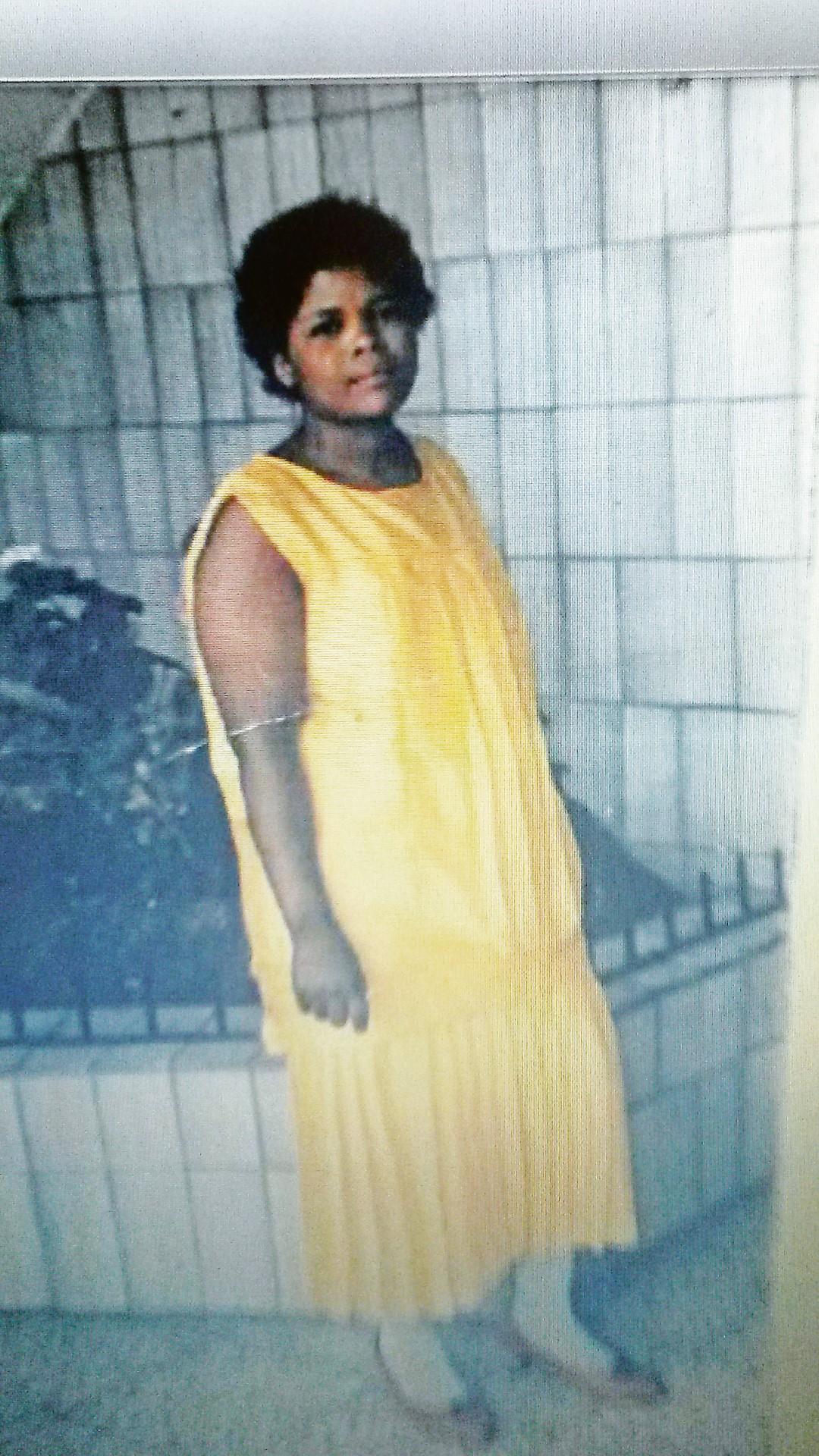 The missing Sibi Irene Ndiyaza.