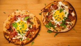 Pizza for breakfast