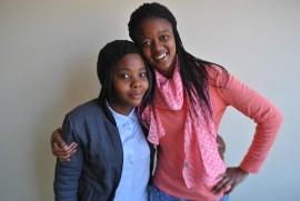 Boitumelo Matshediso and Nompumelelo Dukwe