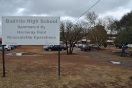 Badirile High School where students where stabbed