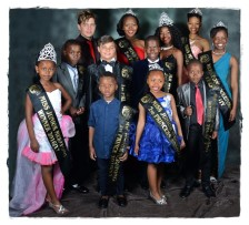 The winners of the Merafong King and Queen event that took place at the Carletonville civic centre on 9 July.
