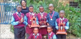 The u.13 chess team has been awarded as the school team of the year.