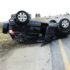 Een van die voertuie wat in die ongeluk betrokke was. Foto: Gladiator Advanced Rescue