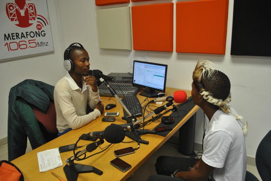 Njabulo N at Merafong FM