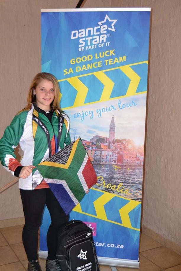 Anellé Arbuckle is reg om SuidAfrika te gaan verteenwoordig.
