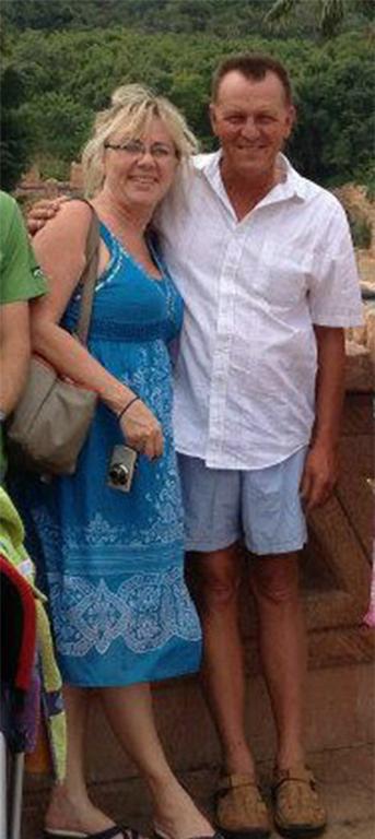 BC en Marlette Greyling. Foto: Facebook.