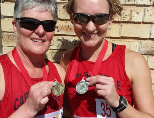 Die atlete wat medaljes tydens die Noordwes Kampioenskappe op 19 Augustus ingepalm het, is Vanessa Cordier en Annalisa Freese