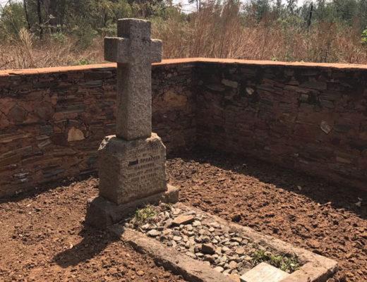 the grave of John Spranger Harrison,