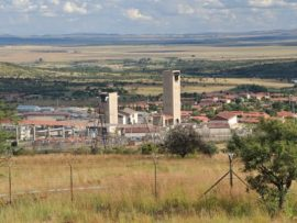 Anglo Gold Asnati's Mponeng Mine, where the incident occurred.