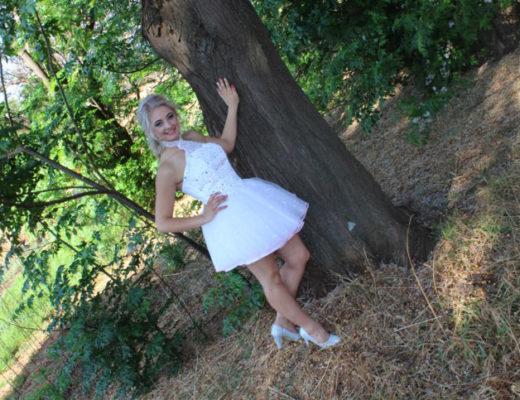 Tammy van Niekerk Hoerskool Carletonville rok gekoop
