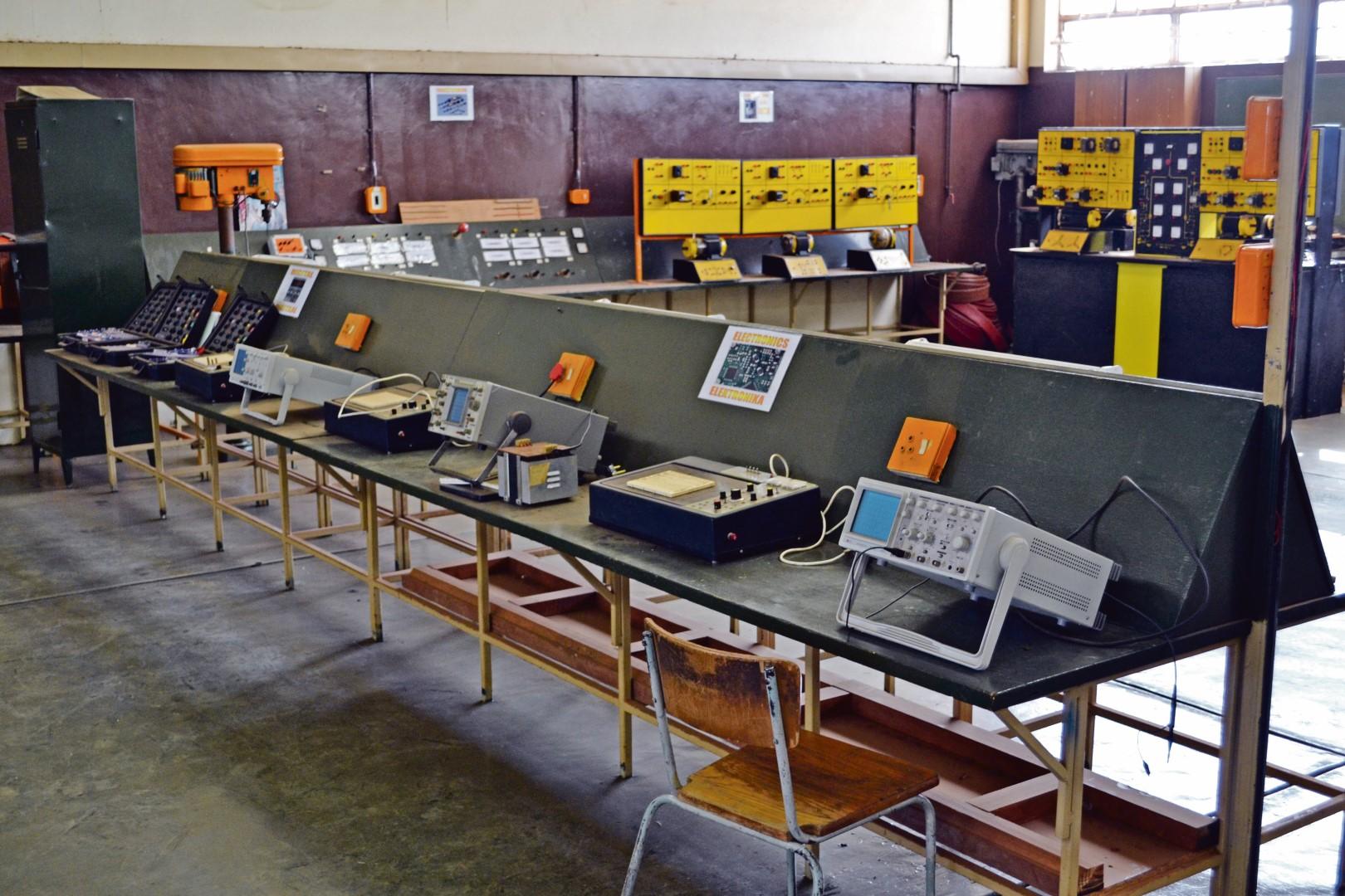 Van die tegniese toerusting wat weer binnekort ten volle by Hoërskool Wonderfontein gebruik gaan word