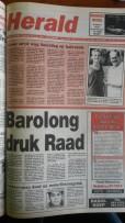 Voorblad 24 Februarie 1995