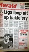 Puk en Landboukollege slaags oor bakleiery – '95