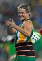 Sunette Viljoen is het uiteindelik haar eerste Olimpiese medalje verower
