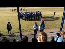 VIDEO: Hoërskool Parys vang gees voor Beeldtrofee kwarteindstryd
