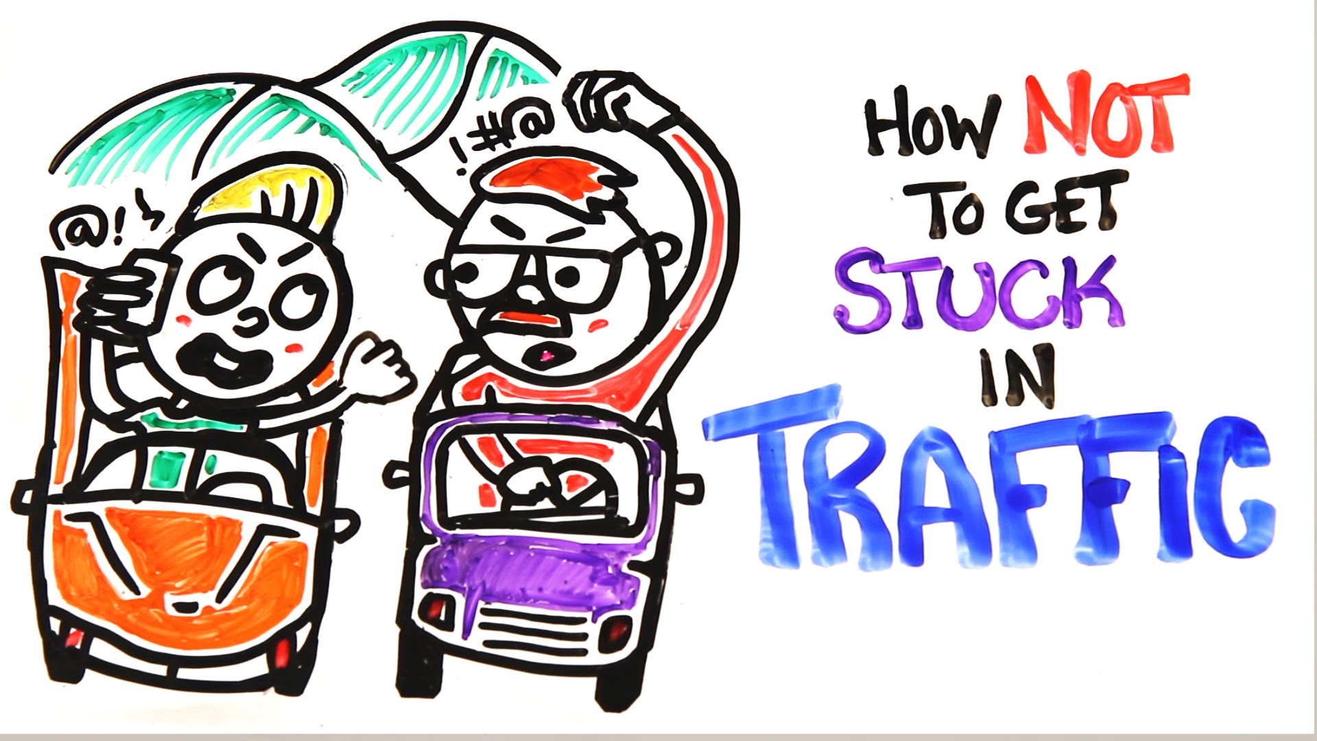 How Not To Get Stuck In Traffic