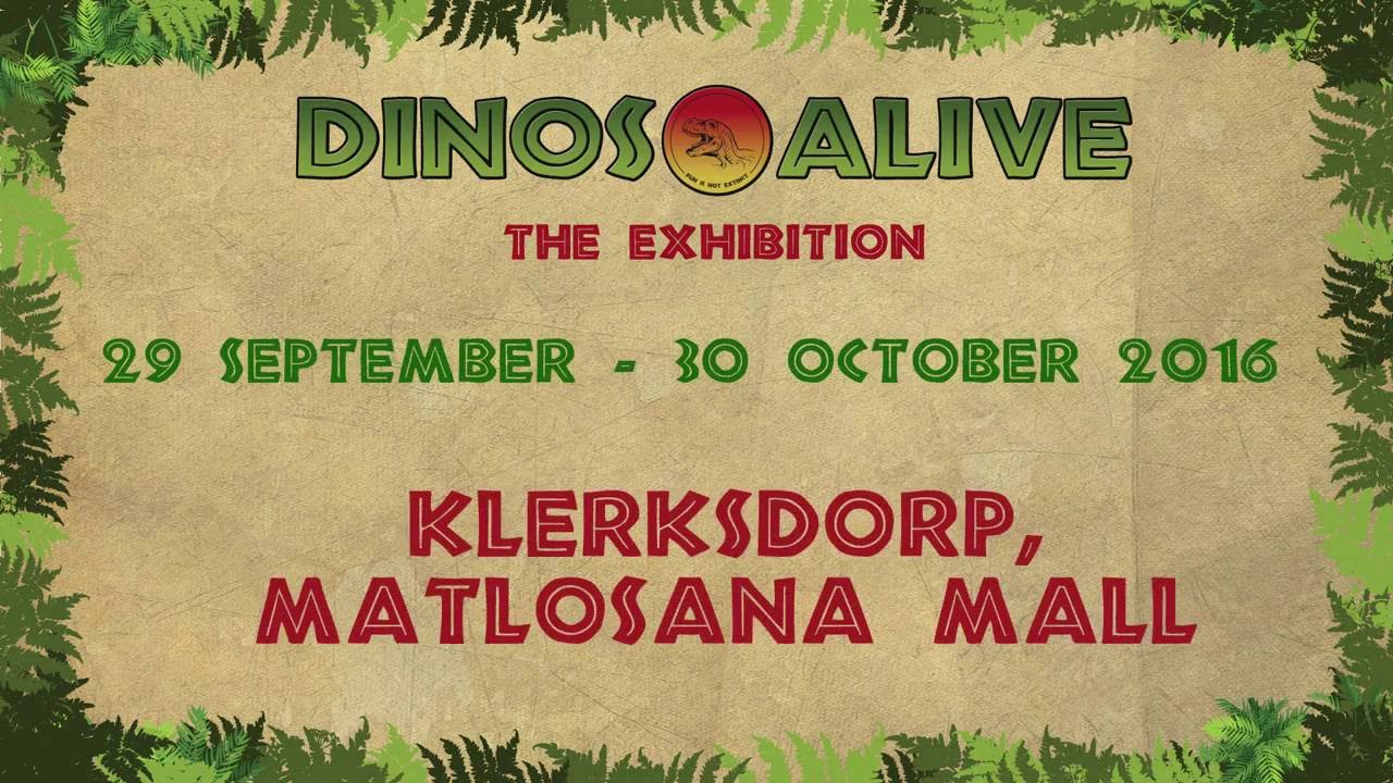 Dinos Alive Klerksdorp, Matlosana Mall