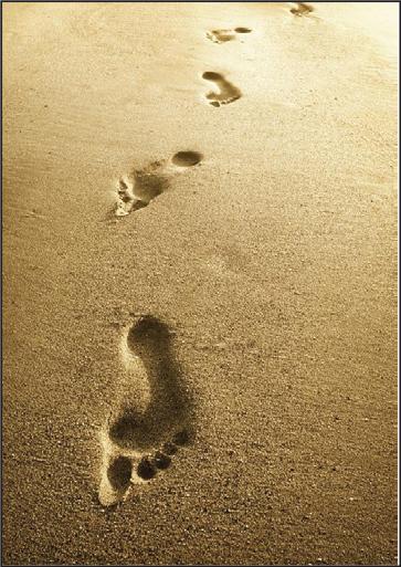 voetspore, religion