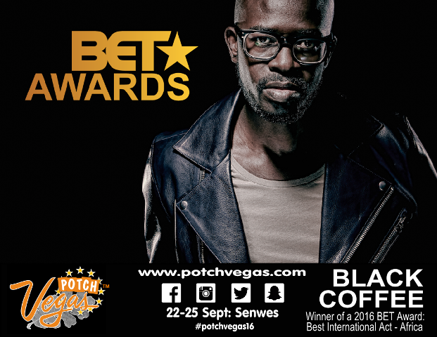 Black Coffee is coming to Potchefstroom!