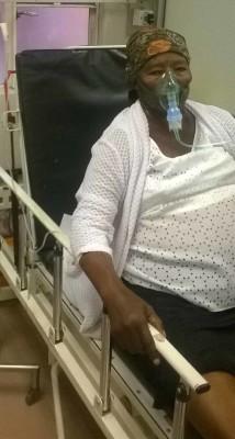 'n Foto van John McDonel se ma in Potchefstroom Hospitaal. Foto: Verskaf