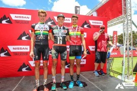 Pieter du Toit once again took top spot in the Nissan Trailseeker MTB series
