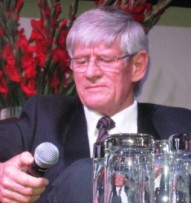 Dr Willie Victor, voormalige president van Potch Dorp Rugbyklub