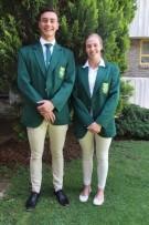 Rudy van Graan en Annien Muller het Suid-Afrika in die Wereldkampioenskappe verteenwoordig.