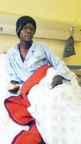 Thomas Lebotse is alive in Heilbron Hospital.