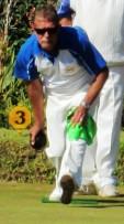 Een van die Potchefstroom Buiteklub se rolbalspelers wat Saterdag in aksie gaan wees tydens die Noordwes Rolbal Parekampioenskap: Ian Nieuwoudt